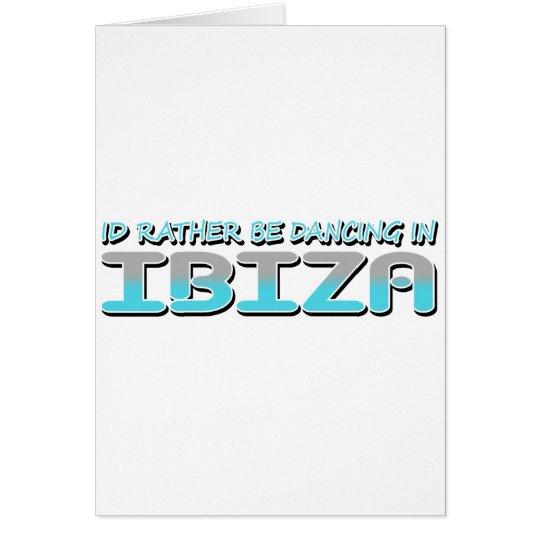 IBIZA CARD