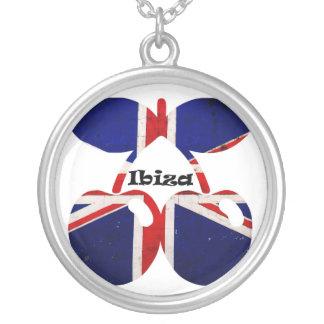 Ibiza Clubbing Round Pendant Necklace