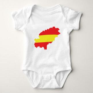 Ibiza contour flag icon tee shirts
