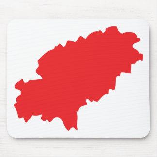 Ibiza countur icon mouse pad