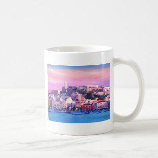 Ibiza Eivissa Old Town And Harbour Pearl Coffee Mug