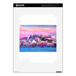 Ibiza Eivissa Old Town And Harbour Pearl iPad 3 Decals