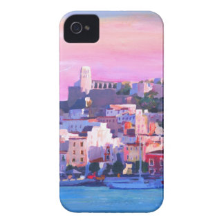 Ibiza Eivissa Old Town And Harbour Pearl iPhone 4 Case-Mate Case