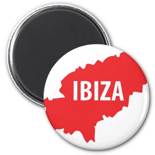 Ibiza icon magnet