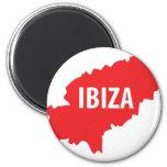 Ibiza icon refrigerator magnet