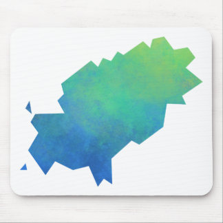 Ibiza Map Mouse Pad