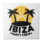 Ibiza Party Crew Tile