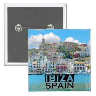 Ibiza Pinback Button