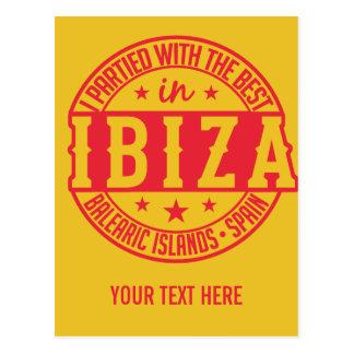 IBIZA Spain custom postcard
