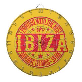 IBIZA Spain dart board