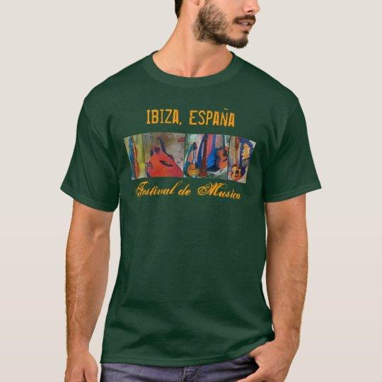 Ibiza, Spain Music Festival - Front T-Shirt