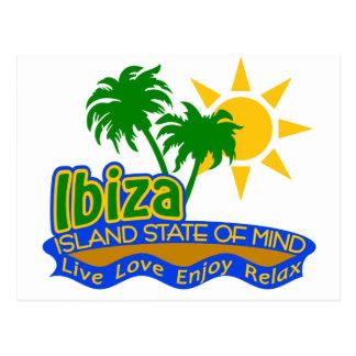 Ibiza State of Mind postcard