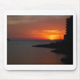 Ibiza Sunset Mouse Pad