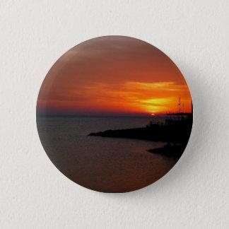 Ibiza Sunset Pinback Button