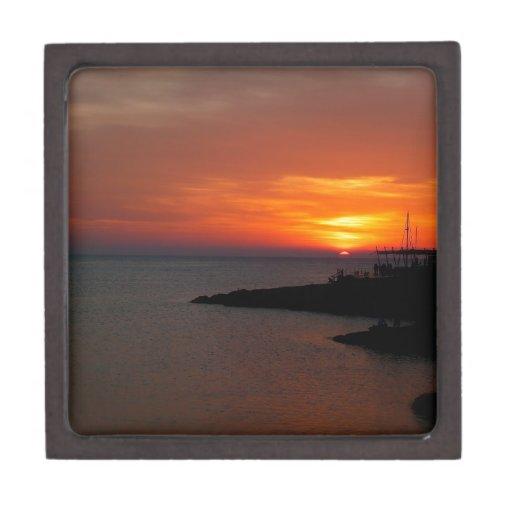 Ibiza Sunset Premium Keepsake Box