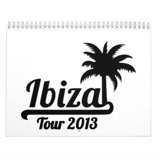 Ibiza Tour 2013 Calendars