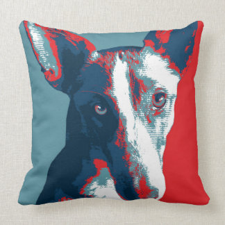 Ibizan Hound by Hope Dogs Throw Pillows