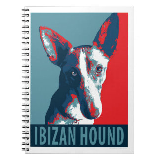 Ibizan Hound by Hope Dogs Spiral Notebook