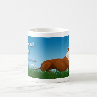 Ibizan Hound Central Classic White Coffee Mug