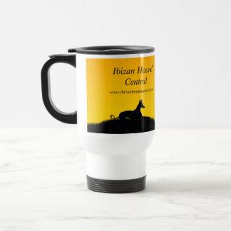 Ibizan Hound Central mug with 2015 calendar cover