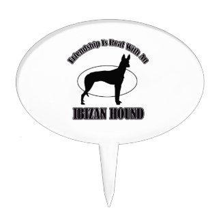 ibizan hound DOG DESIGNS Cake Picks