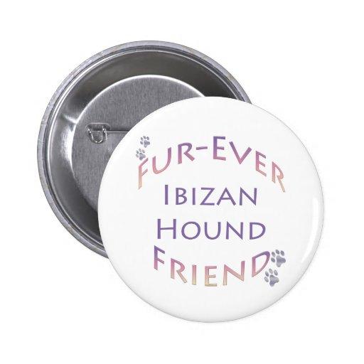 Ibizan Hound Furever Button