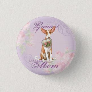 Ibizan Hound Heart Mom Pinback Button