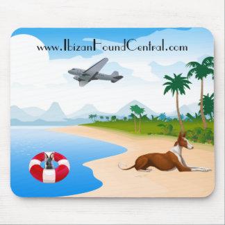 Ibizan Hound Islander Mouse Pad