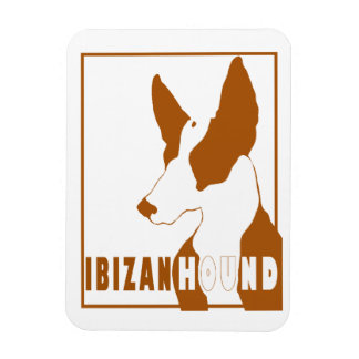 Ibizan Hound Lux Magnet