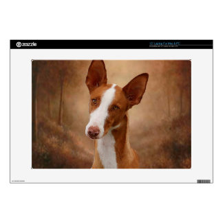 """Ibizan Hound Decal For 15"""" Laptop"""