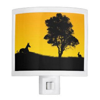 Ibizan Hound with rabbit Night Light
