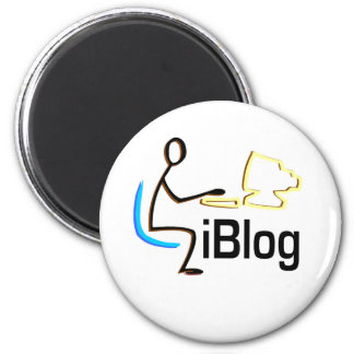 iBlog T-shirts and Gifts. Magnet