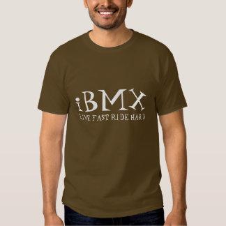 iBMX, LIVE FAST RIDE HARD Shirt