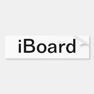 iBoard Car Sticker