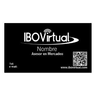 IBOVirtual Plantilla De Tarjeta De Negocio
