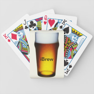 iBrew Ale Glass Bicycle Playing Cards