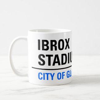 Ibrox Stadium Street Sign Coffee Mug