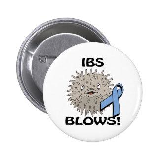 IBS sopla diseño de la conciencia Pin Redondo 5 Cm