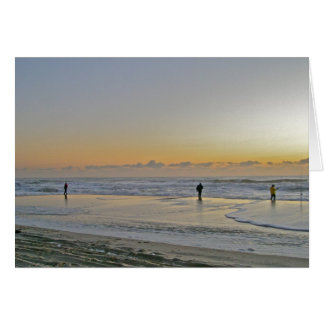 IBSP Fishing at Sunrise Note Card