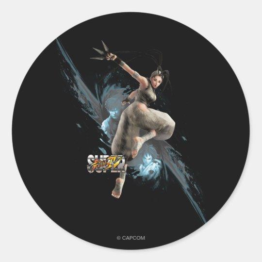Ibuki Classic Round Sticker