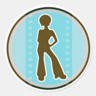 IBWFF Seal Classic Round Sticker