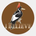 IBWO: I Believe Classic Round Sticker