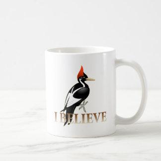 IBWO: I Believe Classic White Coffee Mug