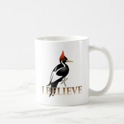 Classic White Mug with I Believe design