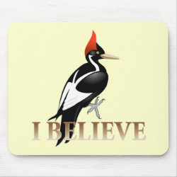Mousepad with I Believe design