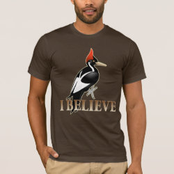 Men's Basic American Apparel T-Shirt with I Believe design