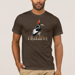I Believe Men's Basic American Apparel T-Shirt