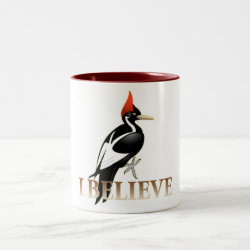 Two-Tone Mug with I Believe design