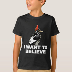 Kids' Hanes TAGLESS® T-Shirt with I Want To Believe design