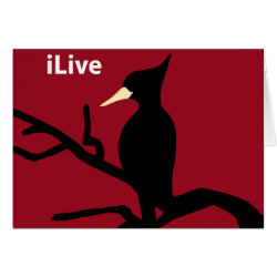 Greeting Card with iLive design